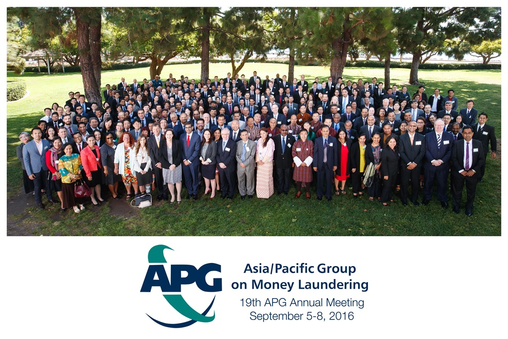Significant Outcomes of the 19th APG Annual Meeting
