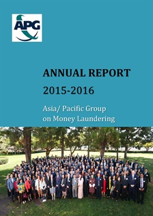 APG Annual Report 2015-2016 Published