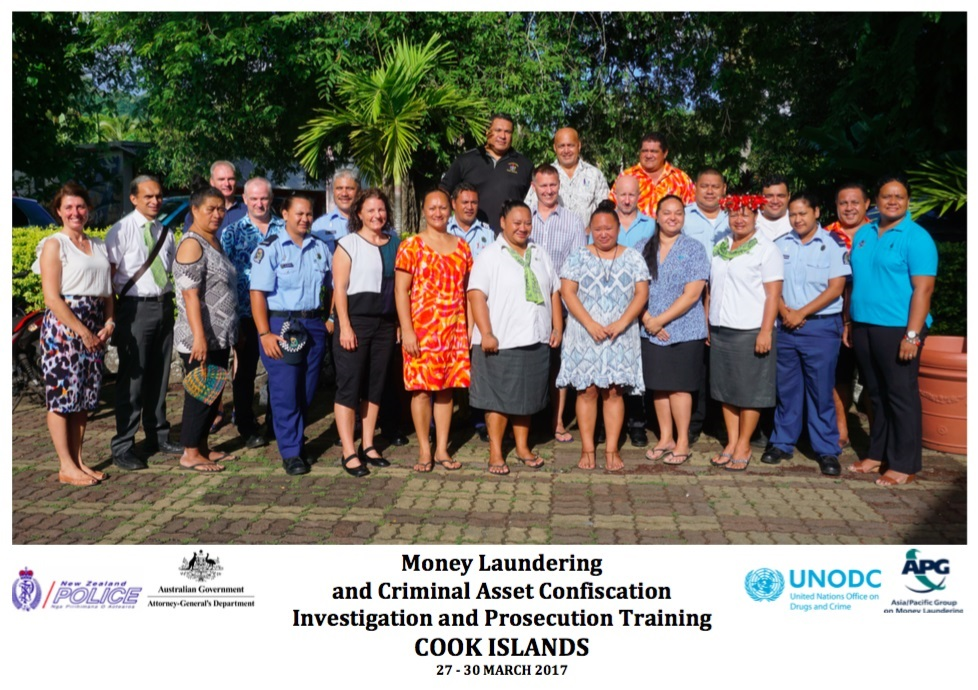 Money Laundering and Criminal Asset Confiscation Investigation and Litigation Training, COOK ISLANDS