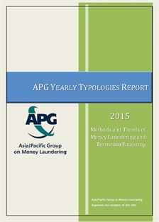 2015 APG Yearly Typologies Report now available