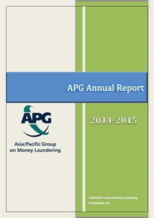 APG Annual Report 2014-2015 Published