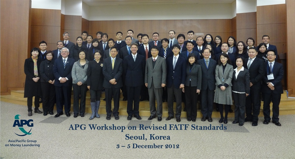 APG North Asia FATF Standards Workshop