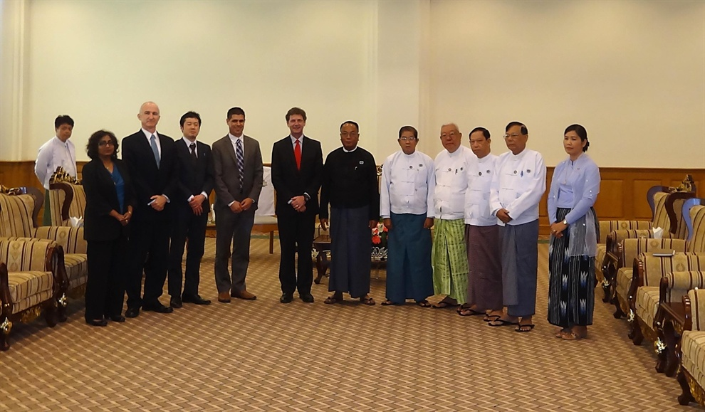 APG and IMF meet with Myanmar Ministers and Parliamentarians