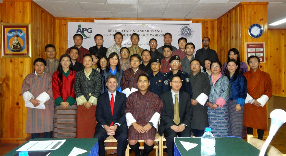 APG Assessment Methodology Workshop in Thimphu, Bhutan May 2014