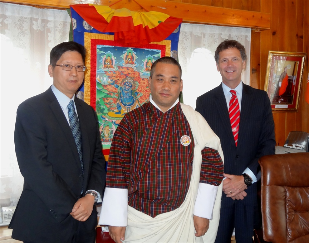 Meetings with Senior Officials in Thimphu, Bhutan 6 May 2014