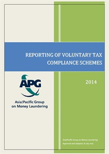 Reporting of Voluntary Tax Compliance Schemes by APG Members